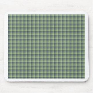 Tapis De Souris Motif vert sans couture de tuile sur le cas de