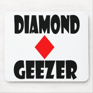 Tapis De Souris mousepad de bonhomme de diamant