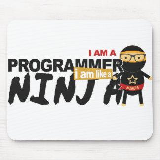 Tapis De Souris mousepad de programmeur : je suis comme un ninja