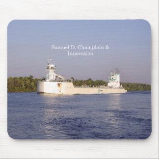 Tapis De Souris Mousepad de Samuel D. Champlain et d'innovation