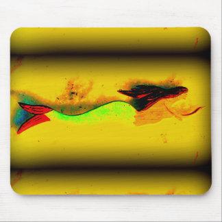 Tapis De Souris mousepad de sirène de natation