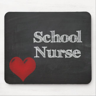 Tapis De Souris mousepad de tableau d'infirmière d'école