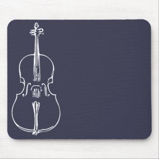 Tapis De Souris Mousepad de violoncelle
