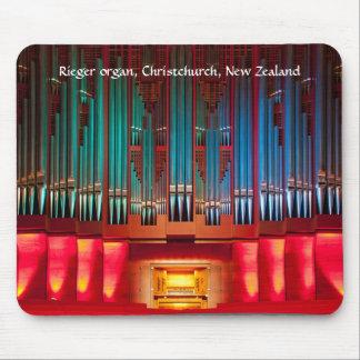 Tapis De Souris Mousepad d'organe de tuyau - hôtel de ville, NZ de