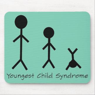Tapis De Souris Mousepad drôle de syndrome de l'enfant le plus en