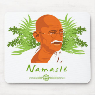 Tapis De Souris Mousepad Gandhi