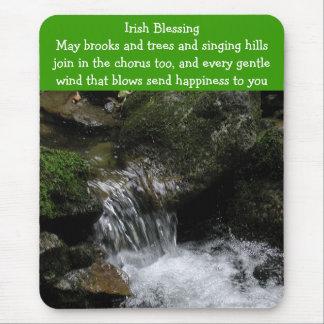 Tapis De Souris Mousepad irlandais de bénédiction