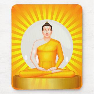 Tapis De Souris Mousepad méditant de Bouddha