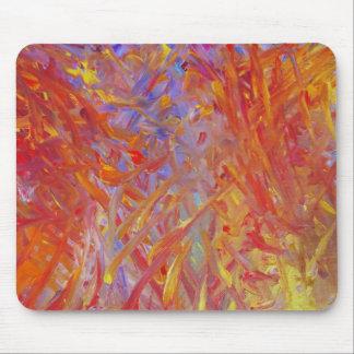 Tapis De Souris Mousepad peint par feu