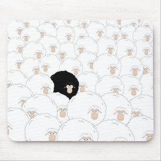 Tapis De Souris Moutons noirs