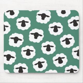 Tapis De Souris Moutons pelucheux • Métiers d'amour de fibre de
