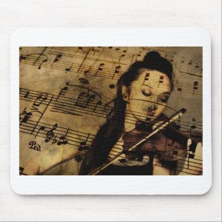 Tapis De Souris Musique de feuille de violon