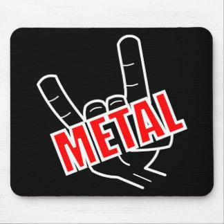 Tapis De Souris Musique de métaux lourds de salut