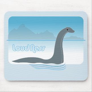 Tapis De Souris Musique Mousepad de monstre de Nessie de Loch Ness