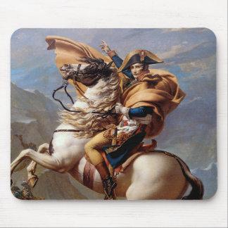 Tapis De Souris Napoléon croisant les Alpes par David