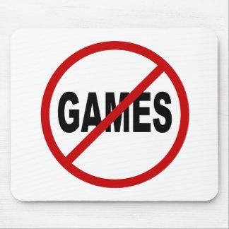 Tapis De Souris Ne détestez les jeux/aucun jeu permis la