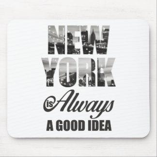 Tapis De Souris New York est toujours une bonne idée