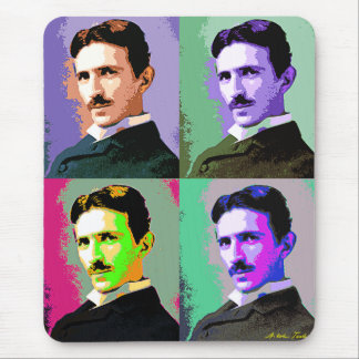 Tapis De Souris Nikola Tesla