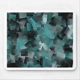 Tapis De Souris No. 3 de turquoise de motif
