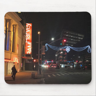 Tapis De Souris Noël en photographie du centre de Brooklyn New
