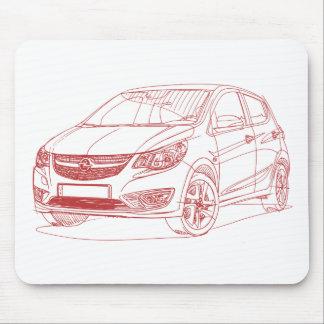 Tapis De Souris Opel Karl 2015
