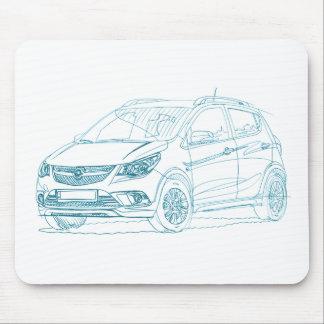Tapis De Souris Opel Karl bascule 2017