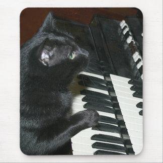 Tapis De Souris Organe jouant le chat