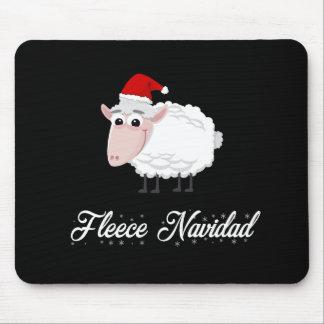Tapis De Souris Ouatine Navidad de moutons de bande dessinée