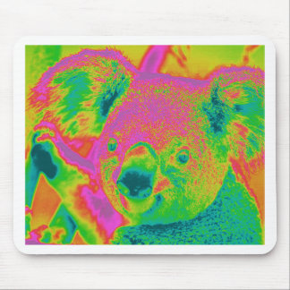 Tapis De Souris ours de koala fluorescents