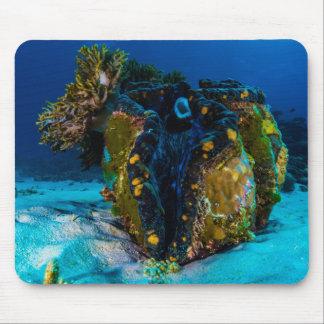 Tapis De Souris Palourde géante sur la Grande barrière de corail