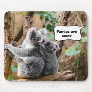 Tapis De Souris Pandas ou koala - qui sont plus mignons ?