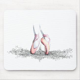 Tapis De Souris Pantoufles de ballet