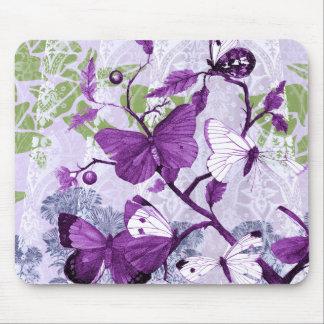 Tapis De Souris Papillons pourpres populaires Mousepad