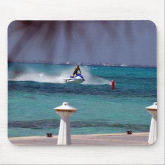Tapis De Souris Paradis de ski de jet