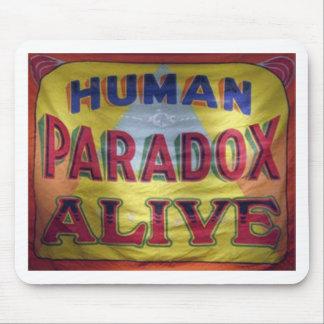 Tapis De Souris Paradoxe humain vivant
