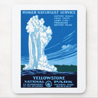 Tapis De Souris Parc national de Yellowstone