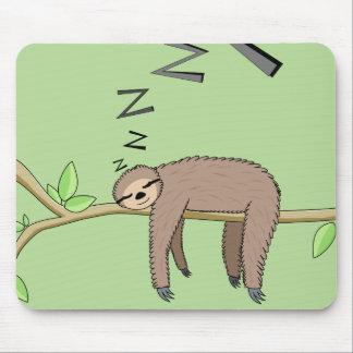 Tapis De Souris Paresse de sommeil