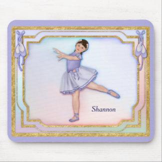 Tapis De Souris Pastel de fille de ballerine