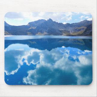 Tapis De Souris Paysage bleu de lac