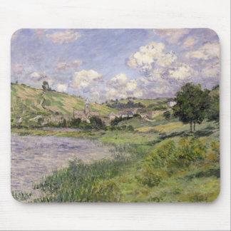 Tapis De Souris Paysage de Claude Monet  , Vetheuil, 1879