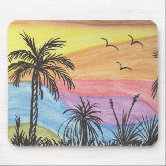 Tapis De Souris Paysage de plage
