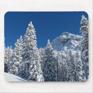Tapis De Souris Paysage d'hiver
