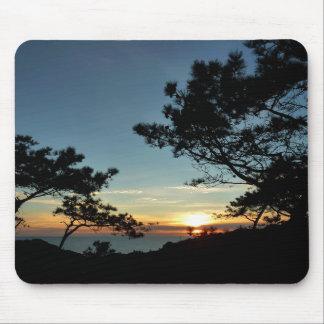 Tapis De Souris Paysage du coucher du soleil III la Californie de