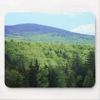 Tapis De Souris Paysage pourpre de Mountain View du Maine