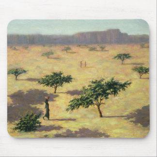 Tapis De Souris Paysage sahélien Mali 1991