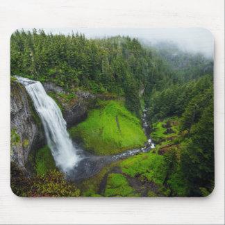 Tapis De Souris Paysage vert de cascade
