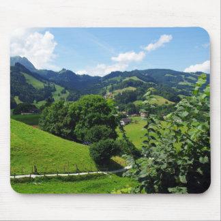 Tapis De Souris Paysage vert de nature