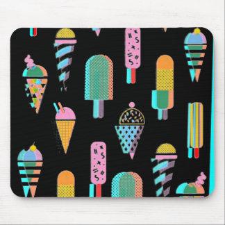 tapis de souris personnalisable de crème glacée 3D
