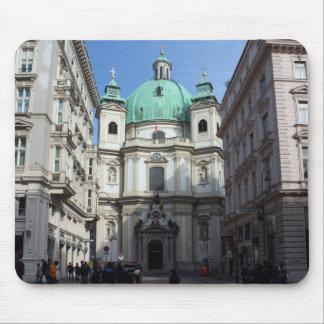 Tapis De Souris Peterskirche Wien Österreich
