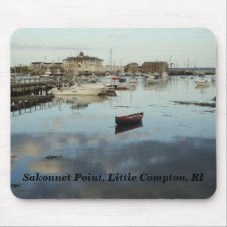 Tapis De Souris Petit Compton, RI - point de Sakonnet, port